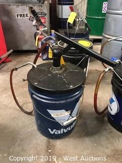Valvoline Bucket With Pump