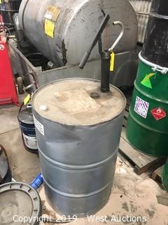 Engine Oil Drum with Pump