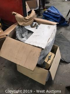(2) Boxes Of Stainless Steel Wheel Simulators