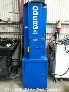 Oberg P-200 Oil Filter Press