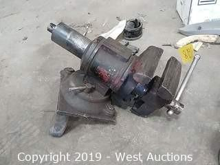 "5"" Table Mounted Heavy Duty Vise"