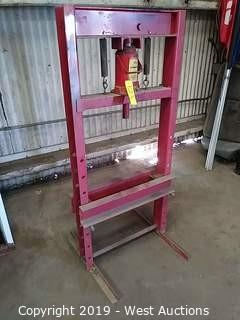 20T Hydraulic Shop Press & Jack