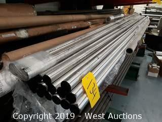 "Aluminum Stock: (21) 12' X 1½"" Rod"