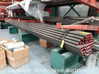 "Steel Stock: (47) 20'x1⁶/⁸"" Seamless Tube and Loose Steel"
