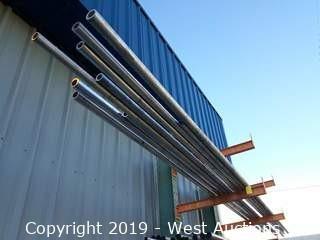 """(9) 12'-18' 1½""""-2⅜"""" Aluminum Pipe"""