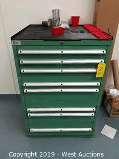 "Lista 42"" Tall Machinists Tool Cabinet (Contents Included)"