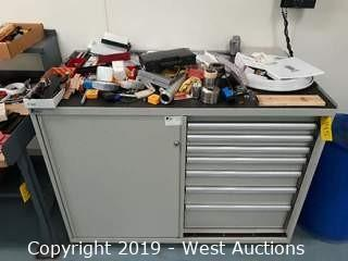 """Lista 56""""Wide Machinists Tool Cabinet (Contents Included)"""