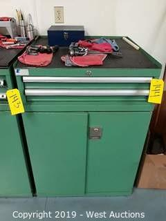 """Lista 40"""" Tall Machinists Tool Cabinet (Contents Included)"""