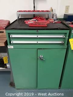 "Lista 40"" Tall Machinist's Tool Cabinet and Contents"