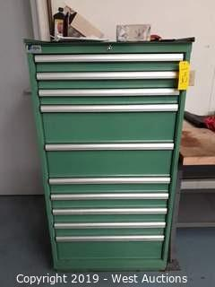 """Lista 55"""" Tall Machinists Tool Box (Contents Included)"""