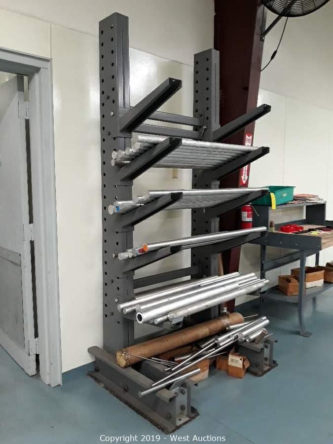 CNC Machine, Vertical Mill, Aluminum Stock, and Manufacturing Equipment Auction Sale in Lodi, CA