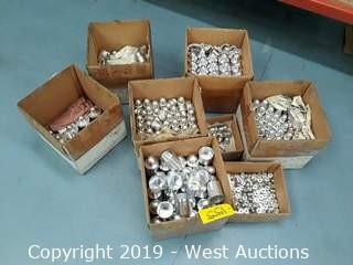 (8) Boxes Of Finished Aluminum Product