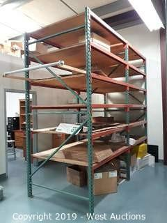 (2) Sections Of 10' Pallet Racking
