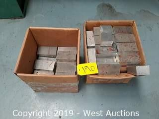 (2) Boxes Of Aluminum Block Stock