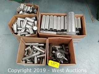 (5) Boxes of Aluminum Stock