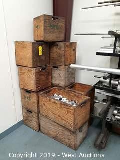 (14) Wood Crates
