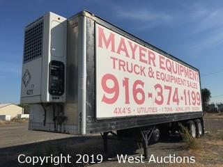 1992 Kidron Temperature Controlled Reefer Trailer