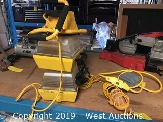 (4) Heavy Duty Work Lights and (1) Electric Power Panel