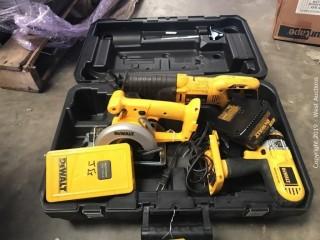 DeWalt Power Hand Tool Set with Case