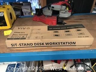 Vivo Sit-Stand Work Station