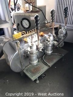Vintage Gaggia 3 Lever Espresso Machine