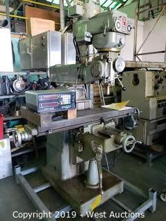 Ex-Cell-O 602 Ram Turret Milling Machine with Digital Readout