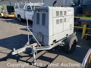 Lincoln Commander 400 Trailer Mounted Welder