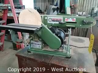 "Central Machinery 4"" × 36"" Belt & 6"" Disc Sander"