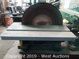 "Central Machinery 12"" Direct Drive Bench Top Disc Sander"