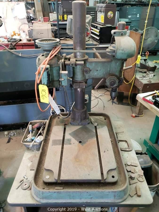 Online Auction of Machine Shop Tools and Equipment in Woodland, CA