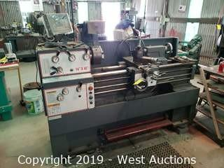 14x40 Metal Lathe With Digital Readout