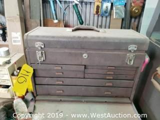 Kennedy KTS Tool Box And Contents