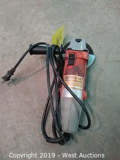 """Chicago Electric 91223 4-1/2"""" Double Insulated Angle Grinder"""