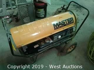 Master MH-125T-KFA Kerosene Forced Air Heater