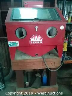 Mac Tools Sand Blast Cabinet