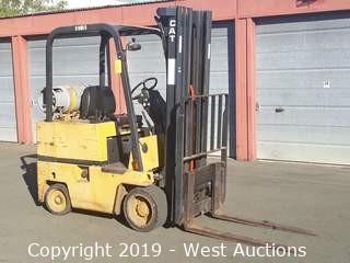 CAT T30D 3,000LB Capacity Propane Forklift