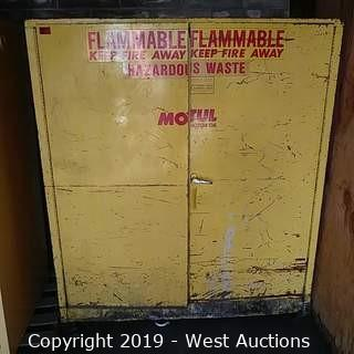 Se-Cure-All Flammable Storage Cabinet