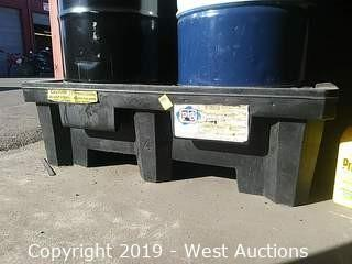 Pig 66 Gal Standard Spill Containment Pallet Without Drain
