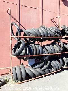3 Level Tire Rack, 7' Wide