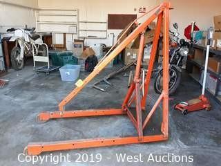 Hein-Werner C-100 1,000 lb Engine Crane