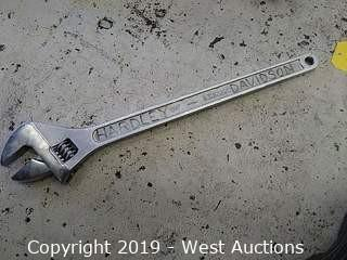"Pittsburgh 24"" Adjustable Wrench"