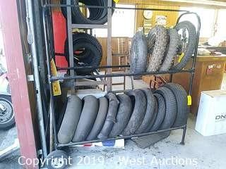 Mobile Tire Rack (Rack Only)