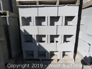(1) Pallet of 12x8x16 OESTD - Precision Grey Lightweight