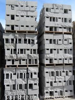 1 Pallet Masonry Block - 8x8x16 OEBB SF1S Grey Lightweight