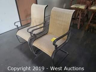 (2) Rocking Patio Chairs