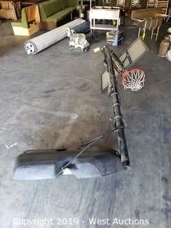 Lifetime Adjustable Basketball Hoop