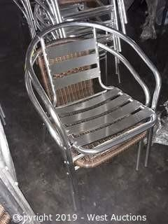 (2) Steel Chairs