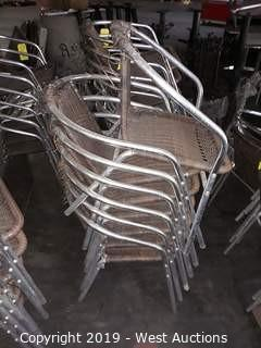 (7) Steel Chairs
