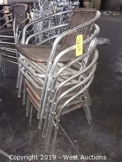 (6) Steel Chairs