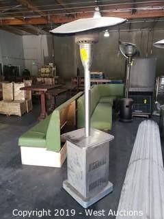 Elegance Stainless Steel Propane Heater